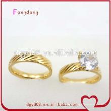 Wholesale fabricante de anel de casamento de aço inoxidável