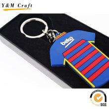 High Quality Customized PVC Key Ring (Y03869)