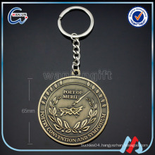 (kc-143)2016 promotional custom metal keychain