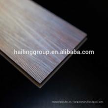 Material virgen impermeable Unilin haga clic en el suelo del PVC del vinilo de 7m m