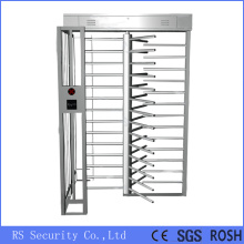 Single Lane Security baffle Gate Full Height Turnstile