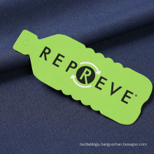 Repreve recycled polyester pet RPET fabric made from recycled plastic bottles for yoga leggings t-shirt sportswear