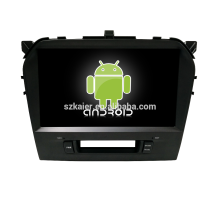 Kaier Qcta core processor Android 7.1 car dvd player/car gps navigation with Mirror Link for Suzuki vitara