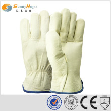leather glove working gloves driver gloves hand protection gloves