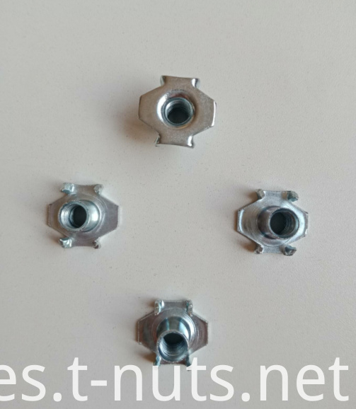 The claw white Zinc Plating T-nuts