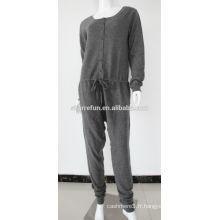 Combinaisons d'hiver en cachemire de luxe tricoté plat 12GG femmes avec prix de gros