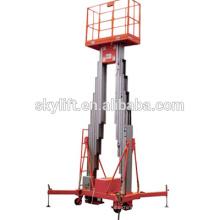 plataforma de trabajo aérea portátil plataforma de trabajo de aleación de aluminio