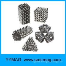 Preiswerter Großhandelsmagnetspielzeug, Magnetpellets Magnetwürfel