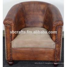 Canapé en cuir design européen