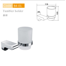 Kaiping Bathroom Accessories Chrome Cup and Tumbler Holder