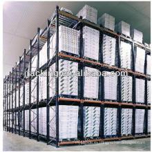 Jracking storage live palet carton flow rack