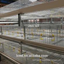 Broilerkäfigdesign der landwirtschaftlichen Produkte für erwachsenes Huhn