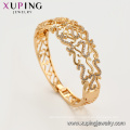 52167 xuping women 18k gold plated environmental copper bangles