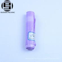 Фиолетовый цветные ПНД с завязками мусорные мешки для мусора