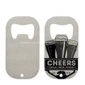 Abridor de garrafas de bebida de sublimação em branco de cerveja personalizado