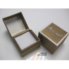 Colar / caixa de colar de papel com inserção / caixa de pulseira de papel com inserção (MX-285)