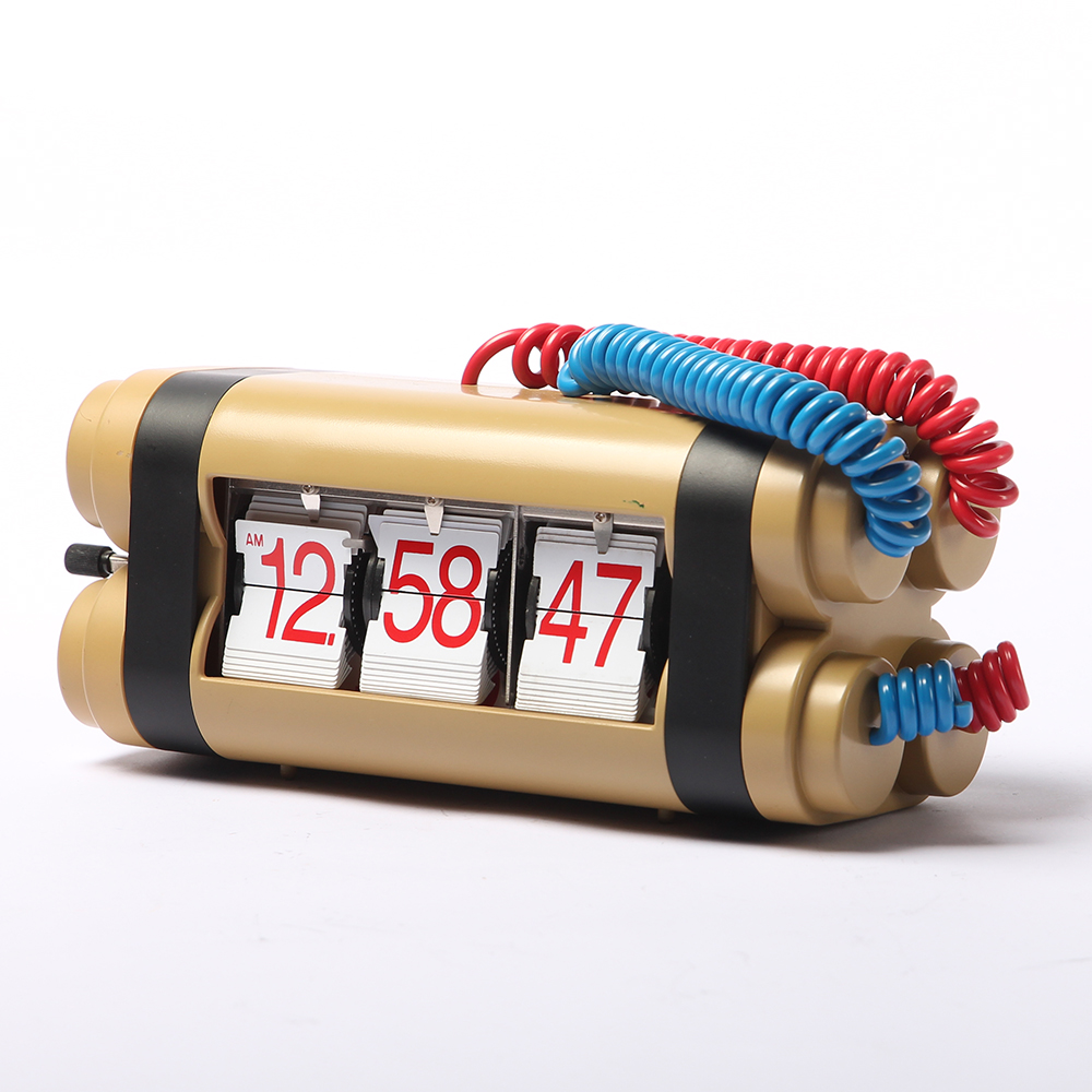 Bomb Flip Clock for Decor