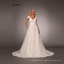 High Quality Custom cheap wedding dresses made in china