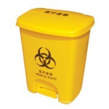 High Quality Plastic Waste Bin with Pedal (MTS-80025)