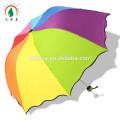 Forme différente de parapluie d'arc-en-ciel de dôme se pliant de ressort de mode