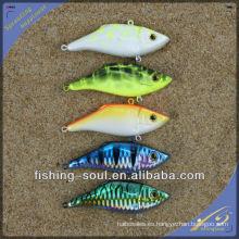 VBL008 8 cm / 10g Nuevo Embalaje de Plástico Duro Señuelo de Pesca Señuelo de Pesca Vibración