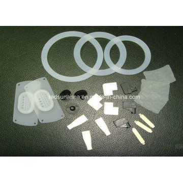 Molded Clear Food Grade Silicone Rubber Gasket China Manufacturer