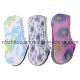 Woman Ladies Adults Invisible Polyester Printed Socks (ZT-CS-080)