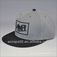 6 panel 3d bordado gorra de béisbol