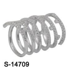 2016 neue Modell Modeschmuck Ring Messing (S-14709)