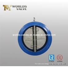 Placa Dual oblea válvula de retención con CE ISO Wras (H77X-10/16)