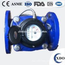 Usine prix grand diamètre woltmann eau débitmètre