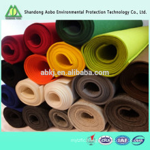 Excellent quality wide varieties needle punched non-woven latest technology colorful 100% wool felt