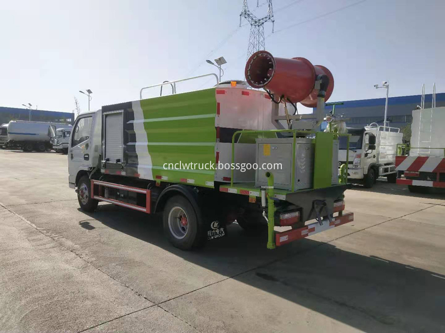 dust removal trucks dealers
