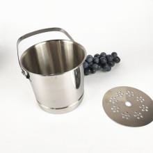 Venta al por mayor de acero inoxidable Bar / Hotel accesorios personalizados cubo de hielo de hojalata