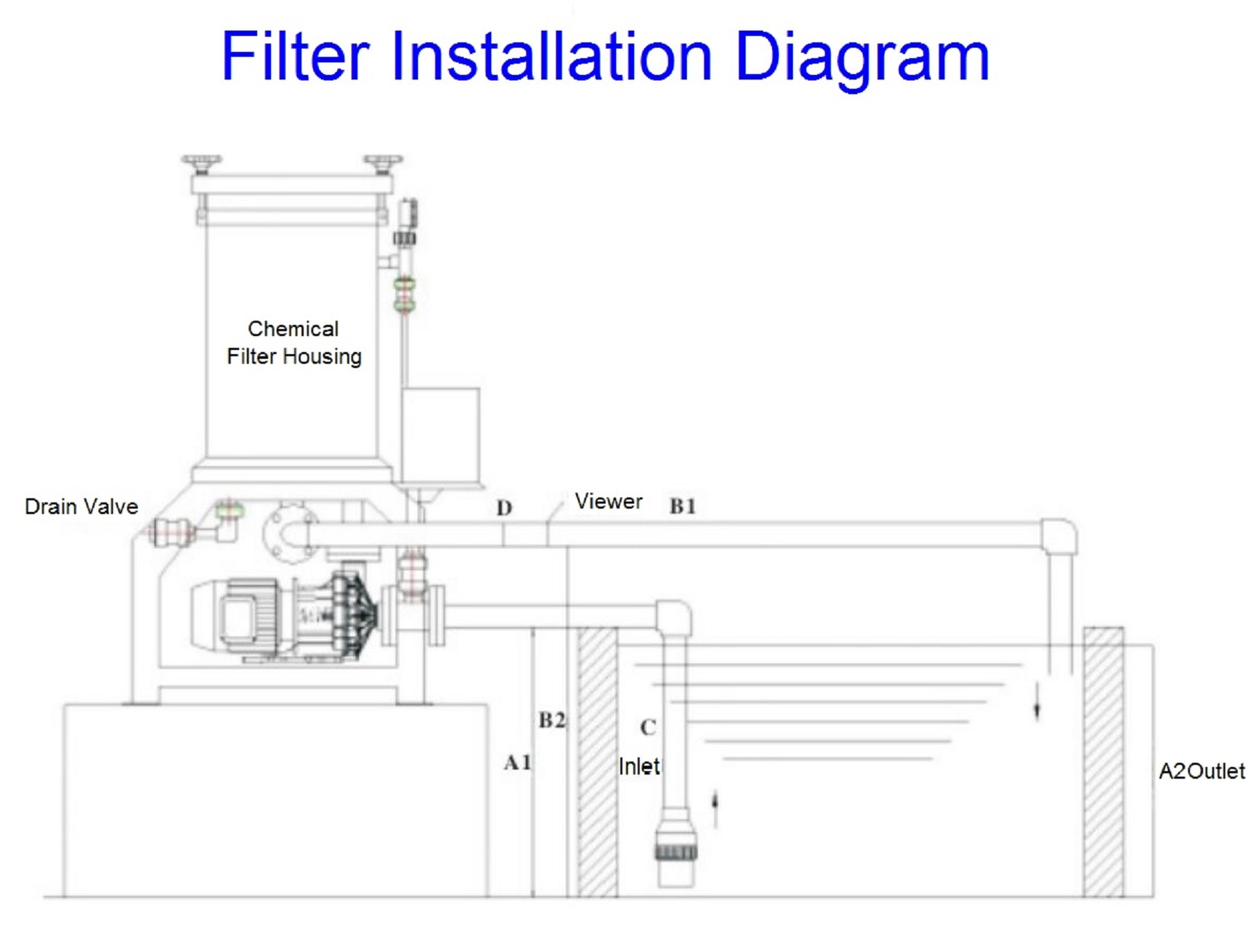 Assembly Instruction Drawing