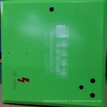 Produtos do metal de 1.5mm SPCC com anodização verde
