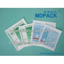Papel de esterilización / Aluminio / Bolsa de plástico complejo para fluidos médicos