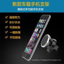 Support de téléphone mobile mini magnétique pour utilisation automobile
