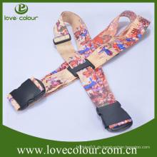 Kundenspezifischer verstellbarer Polyester-Kreuz-Gepäck-Bügel-Gurt für Safe