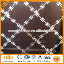 Factory direct sale best quality galvanized razor wire fencing