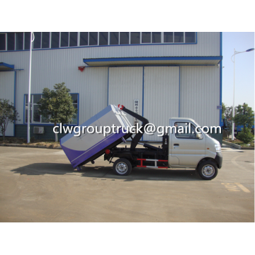 Changan 3CBM Container Lift Ascenseur Garbge Truck
