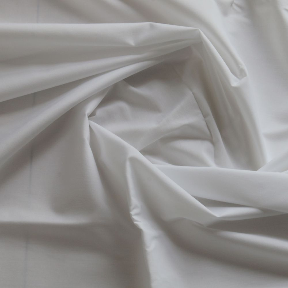 White Cvc Shirt Fabric