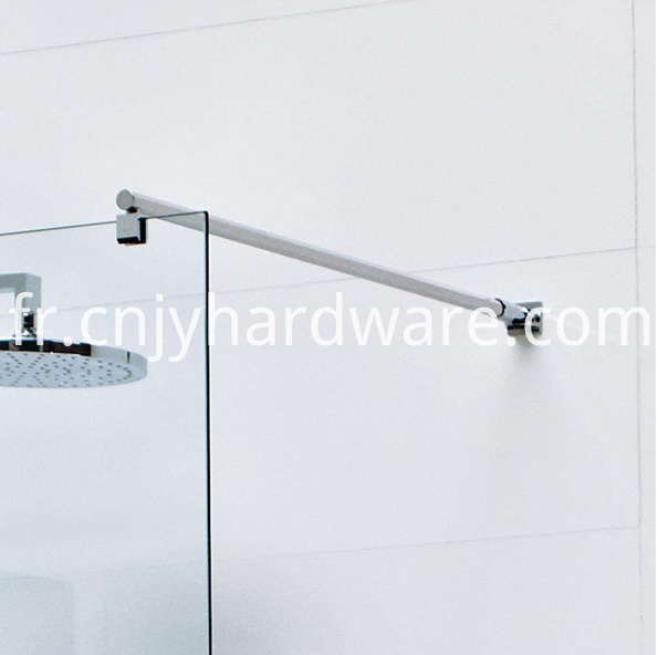 shower screen support bar