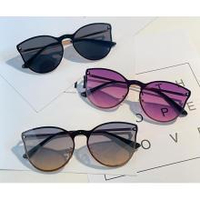Wholesale Fashion Women one piece lens Frames UV 400 Shades Sun Glasses Sunglasses 2021