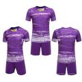 nuevo jersey de fútbol en blanco OEM logotipo personalizado sublimación 2017 jersey soccer kit