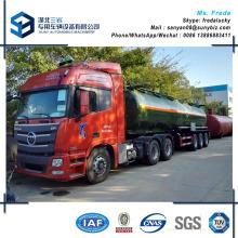54000 L 3 essieux Oil Tanker Fuel Tank Semi-Trailer Spécification