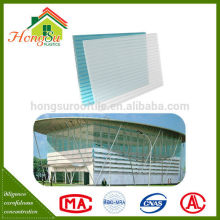 Competitive price high transparency balcony awnings plastic sheet