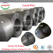 High quality Ferro Silicon Calcium used for steel making/SiCa cored wire