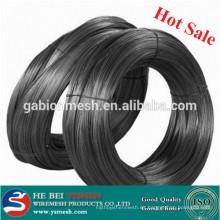 Alambre recocido negro del hierro de la venta caliente
