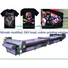 Tshirts Impresora que usa la tinta del pigmento Mimaki modificada